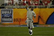MORNING JOURNAL/DAVID RICHARD.Ohio State quarterback Troy Smith before the BCS National Championship game vs. Florida.