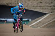 #100 (PAJON Mariana) COL at Round 3 of the 2020 UCI BMX Supercross World Cup in Bathurst, Australia.