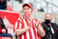 Football - 2020 / 2021 Sky Bet League One - Play-offs - Semi-final, second leg - Sunderland vs Lincoln City - Stadium of Light<br /> <br /> Sunderland fans return to the Stadium of Light for the first time this season<br /> <br /> Credit : COLORSPORT/BRUCE WHITE
