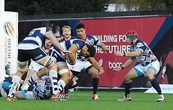 - Photo mandatory by-line: Paul Knight/JMP - Mobile: 07966 386802 - 23/11/2014 - SPORT - Rugby - Bristol - Ashton Gate - Bristol Rugby v Rotherham Titans - Greene King IPA Championship