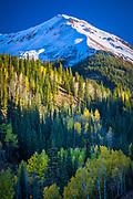 Hayden Mountain in Colorado's Rocky Mountains