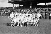 16/04/1967<br /> 04/16/1967<br /> 16 April 1967<br /> National Hurling League: Clare v Dublin at Croke Park, Dublin. <br /> The Dublin team who won the National Hugling League match.