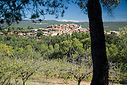 Roussillon village in Vaucluse, Provence, France