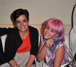 Left to right, LILY ALLEN and JAIME WINSTONE at a party to launch Esquire magazine's June issue hosted by new editor Alex Bilmes at Sketch, Conduit Street, London on 5th May 2011.