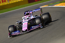 August 30, 2019, Spa Francorchamps, Belgium: Racing Point UK Limited Driver SERGIO PEREZ (MEX) in action during the second free practice session of the Formula one Belgian Grand Prix at the SPA Francorchamps circuit - Belgium (Credit Image: © Pierre Stevenin/ZUMA Wire)