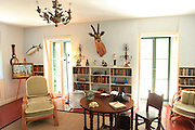 Key West, Florida.  The writing room at the Ernest Hemmingway house.