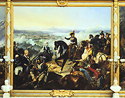 The Battle of Zurich 25, September 1799'. Second Battle of Zurich, French victory over Austria and Russia. French General Andre Massena at the battle.  Francois Bouchot (1800-1842) French artist. Galerie des Batailles, Versailles. Oil on canvas.