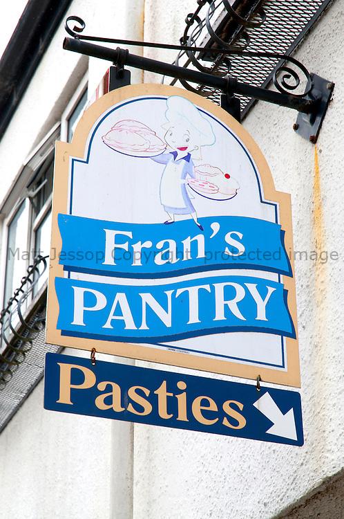 Lostwithiel Pantry Sign