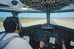 Pilots Taking Off, BAC 111 401-AK