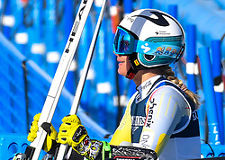 15.02.2021, Cortina, ITA, FIS Weltmeisterschaften Ski Alpin, Alpine Kombination, Damen, Super G, im Bild Ragnhild Mowinckel (NOR) // Ragnhild Mowinckel of Norway reacts after the Super G competition for the women's alpine combined of FIS Alpine Ski World Championships 2021 in Cortina, Italy on 2021/02/15. EXPA Pictures © 2021, PhotoCredit: EXPA/ Erich Spiess