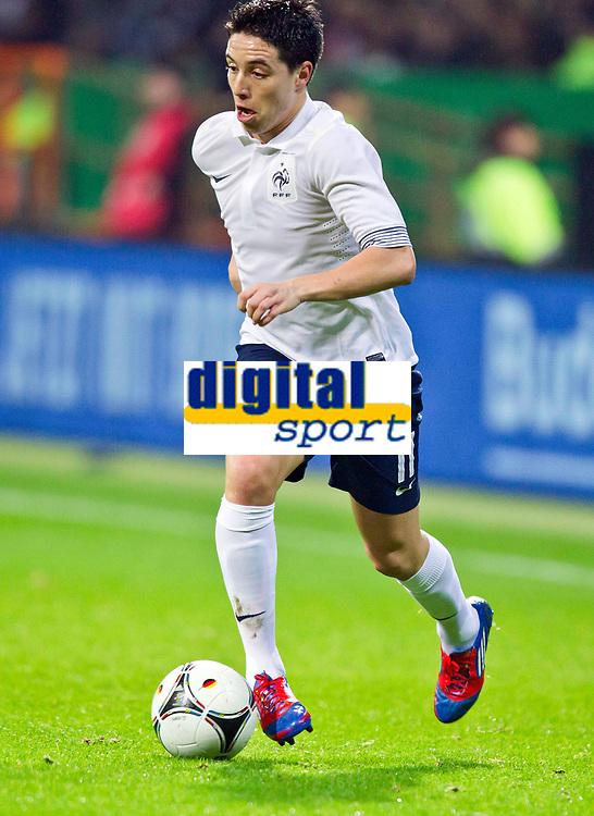 FOOTBALL - FRIENDLY GAME 2011/2012 - GERMANY v FRANCE  - 29/02/2012 - PHOTO DPPI - SAMIR NASRI (FRA)