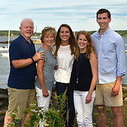 PORTLAND, Maine -- August 31, 2019 -- Lara M and Family. Eastern Prom Park.  1 hour total shooting time on location. Images are usable for all purposes by file holder. <br /> Professional Portrait Photo by Roger S. Duncan  207-443-9665 <br /> http://www.rogerduncanphoto.com