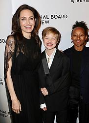 Gal Gadot is seen in New York City. NON-EXCLUSIVE January 9, 2018. 09 Jan 2018 Pictured: Angelina Jolie,Shiloh Jolie-Pitt,Zahara Jolie-Pitt. Photo credit: Nancy Rivera/Bauergriffin.com/MEGA TheMegaAgency.com +1 888 505 6342