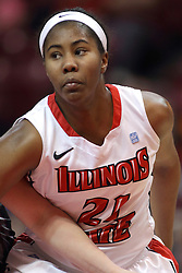 04 January 2015:  Zenobia Bess during an NCAA MVC (Missouri Valley Conference) women's basketball game between the Southern Illinois Salukis and the Illinois Sate Redbirds at Redbird Arena in Normal IL