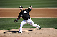 GLENDALE, AZ - MARCH 08:  John Danks #50 of Chicago White Sox pitches against the Colorado Rockies on March 08, 2011 at The Ballpark at Camelback Ranch in Glendale, Arizona. The White Sox defeated the Rockies 9-8.  (Photo by Ron Vesely)