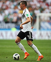 Football - 2018 FIFA World Cup - Group F: Germany vs. Mexico<br /> <br /> Julian Draxler of Germany is seen at Luzhniki Stadium, Moscow.<br /> <br /> COLORSPORT/IAN MACNICOL