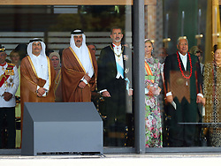 Emir of Qatar Tamim bin Hamad Al Thani, King Felipe VI and Queen Letizia attend the Enthronement Ceremony of Emperor Naruhito at the Imperial Palace in Tokyo, Japan on October 22, 2019. Photo by Robin Utrecht/ABACAPRESS.COM