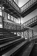 Courthouse interior in Dallas, Texas