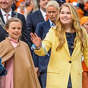 NLD/Tilburg/20170427- Koningsdag 2017, Prinses Amalia en Prinses Ariane