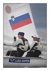 470 Class European Championships Largs - Day 6..SLO64, Tina MRAK, Teja CERNE, Jk Pirat Portoroz
