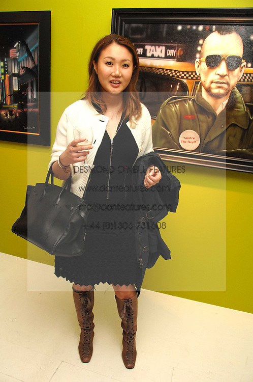 YUKI OSHIMA-WILPON at an exhibition of artist Paul Karslake's work entitled Ideas & Idols, held at Scream, 34 Bruton Street, London W1 on 21st February 2008.<br /><br />NON EXCLUSIVE - WORLD RIGHTS