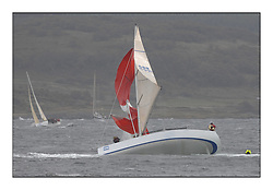 Brewin Dolphin Scottish Series 2011, Tarbert Loch Fyne - Yachting - Day 3 of the 4 day series. Windier!..Chinese Gybe that resulted in Charles Frize and another crew member being flung overboard GBR 5991T, Prime Suspect, Charles Frize, CCC/RNCYC, Mills 36.