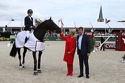 Davis Lucy, (USA), Barron<br /> Grand Prix Rolex<br /> Brussel Stephex Masters 2015<br /> © Hippo Foto - Counet Julien<br /> 6-09-2015