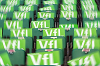 Fotball<br /> Tyskland<br /> Foto: Witters/Digitalsport<br /> NORWAY ONLY<br /> <br /> 12.05.2009<br /> <br /> Fahnen Wolfsburg<br /> Bundesliga VfL Wolfsburg - Borussia Dortmund 3:0