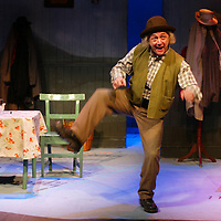 The Kerry Matchmaker at Perth Theatre<br /> Pictured Jimmy Chisholm<br /> Picture by Graeme Hart.<br /> Copyright Perthshire Picture Agency