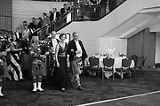 IONA DUCHESS OF ARGYLL; THE EARL OF KINNOUL, The Royal Caledonian Ball 2017, Grosvenor House, 29 April 2017