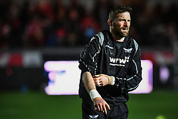 Scarlets' John Barclay during the pre match warm up - Mandatory by-line: Craig Thomas/Replay images - 26/12/2017 - RUGBY - Parc y Scarlets - Llanelli, Wales - Scarlets v Ospreys - Guinness Pro 14