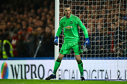 David De Gea of Manchester United - Mandatory by-line: Jason Brown/JMP - 13/03/2017 - FOOTBALL - Stamford Bridge - London, England - Chelsea v Manchester United - Emirates FA Cup Quarter Final