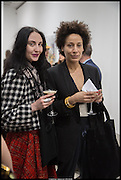WENDY BEVAN; LEENA SIMILU,  Hypernova: Marius Bercea. Blain Southern. Hanover Sq. London. 27 March 2014.