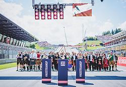 01.07.2018, Red Bull Ring, Spielberg, AUT, FIA, Formel 1, Grosser Preis von Österreich, Rennen, im Bild Feature Österreich Grand Prix Spielberg // Feature Austrian Grand Prix Spielberg during race of the Austrian FIA Formula One Grand Prix at the Red Bull Ring in Spielberg, France on 2018/07/01. EXPA Pictures © 2018, PhotoCredit: EXPA/ JFK