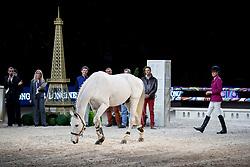 Diniz Luciana, POR, Winningmood, farewell<br /> LONGINES FEI World Cup™ Finals Paris 2018<br /> © Hippo Foto - Stefan Lafrentz<br /> 14/04/2018