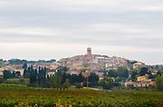 The Sablet village. near Orange Vaucluse Provence France Europe Vaucluse, France, Europe