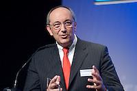 26 FEB 2009, BERLIN/GERMANY:<br /> Joel Saveuse, Chef der Metro-SB-Warenhaustocher real und metro Vorstandsmitglied, haelt eine Rede, Preisverleihung des Best of European Business Awards, Franzoesische Botschaft<br /> IMAGE: 20090226-02-019