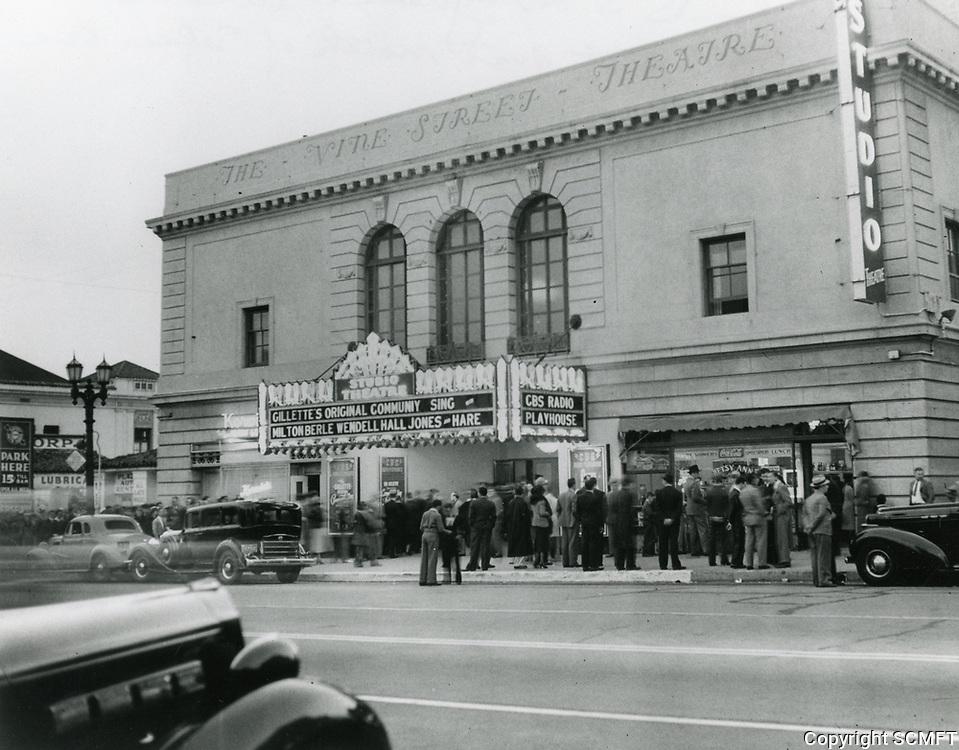 1936 CBS Radio Playhouse on Vine St.