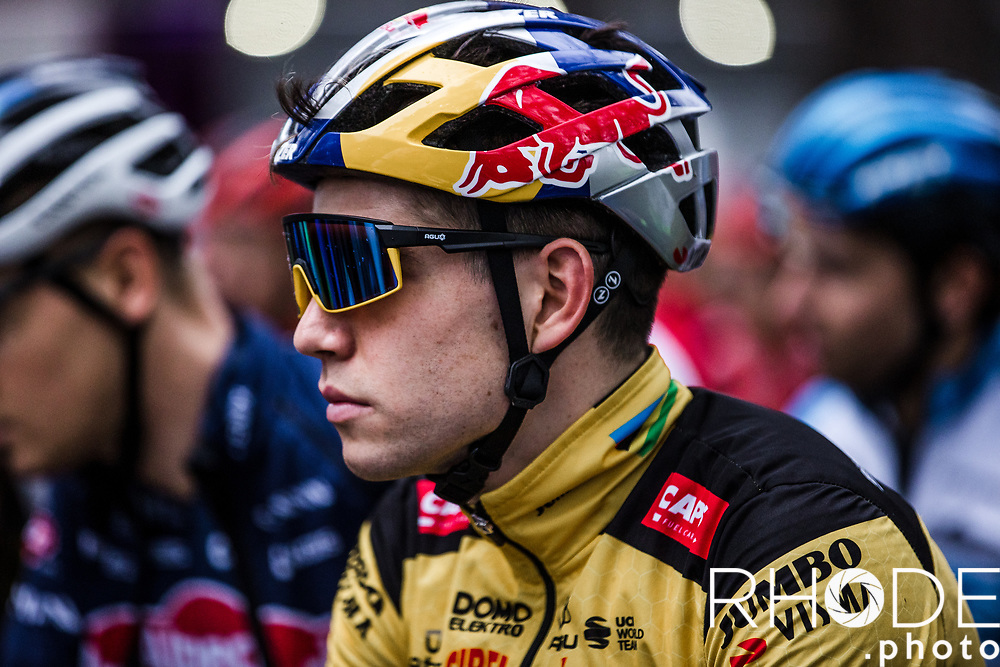 Wout Van Aert (BEL/Jumbo-Visma) pre race<br /> <br /> X2O Badkamertrofee Herentals 2020<br /> Men Elite Race<br /> <br /> ©RhodePhotoMedia