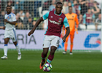 Football - 2016 / 2017 Premier League - West Ham United vs. Sunderland<br /> <br /> Michail Antonio of West Ham at The London Stadium.<br /> <br /> COLORSPORT/DANIEL BEARHAM
