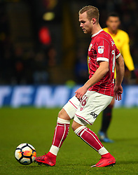 Gustav Engvall of Bristol City - Mandatory by-line: Robbie Stephenson/JMP - 06/01/2018 - FOOTBALL - Vicarage Road - Watford, England - Watford v Bristol City - Emirates FA Cup third round proper