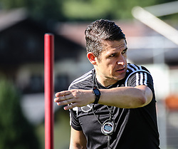 01.07.2016, Athletic Area, Schladming, AUT, U19 EURO, Vorbereitung Deutschland, DFB U19 Junioren, im Bild Fitnesscoach Christian Schwend // during a training camp of Team Germany for preparation for the UEFA European Under-19 Championship at the Athletic Area, Austria on 2016/07/01. EXPA Pictures © 2016, PhotoCredit: EXPA/ Martin Huber