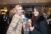 ALLEGRA HICKS; TANYA FARES, Smythson Sloane St. Store opening. London. 6 February 2012.