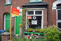 Norwich 2 days before the local elections. 2 May 2017. UK