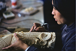 Creating Ivory Sculpture