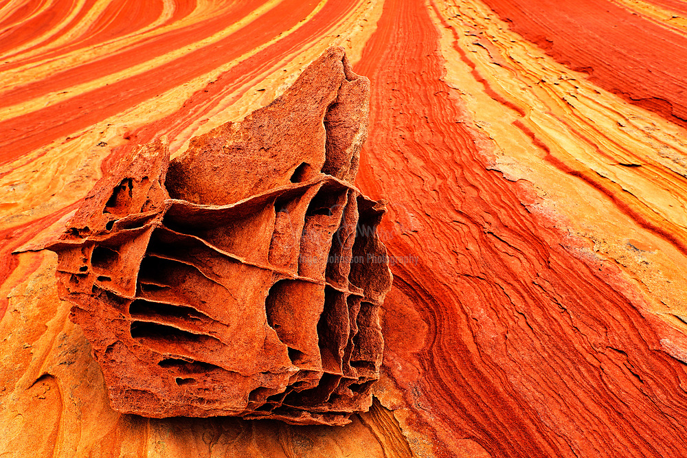 Rocks in the North Coyote Buttes unit of the Vermillion Cliffs National Monument
