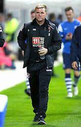 Bournemouth Manager, Eddie Howe  - Mandatory byline: Matt McNulty/JMP - 07966386802 - 22/09/2015 - FOOTBALL - Deepdale Stadium -Preston,England - Preston North End v Bournemouth - Capital One Cup - Third Round