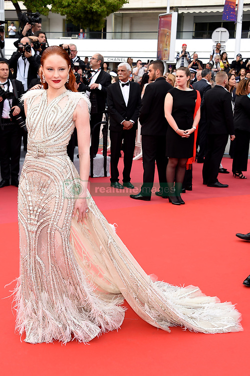 Barbara Meier attending the opening ceremony and premiere of The Dead Don't Die, during the 72nd Cannes Film Festival.