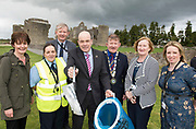 Repro Free:  'Minister for the Environment Denis Naughten kicked off National Spring Clean 2017 in massive clean-up in his home county Roscommon.<br /> With him from left was <br /> Cllr Kathleen Shanagher,  Annette Donnelan Kieran Madden  Cathaoirleach of Roscommon County Council - Cllr. Tony Ward, Majella Hunt and Suzanne Dempsey Environment Officer Roscommon .<br />  Photo: Andrew Downes,  xposure