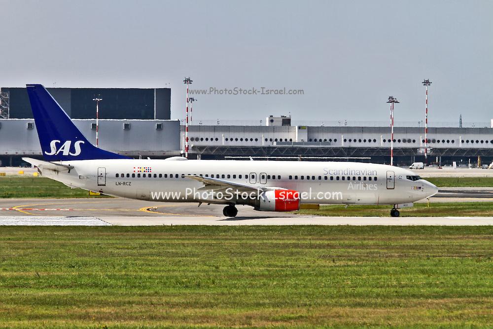 SAS Scandinavian Airlines System Boeing 737 Next Gen. at Milan - Malpensa (MXP / LIMC) Italy